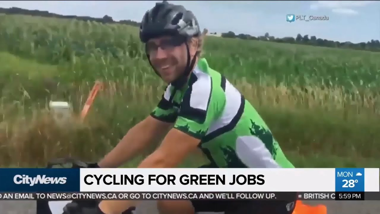 View our video from the Green Ride for Green Jobs