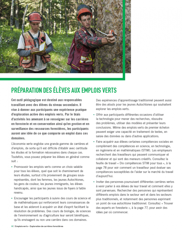 Emplois verts - page 8