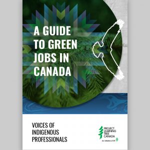 """cover of """"A Guide to Green Jobs in Canada"""""""