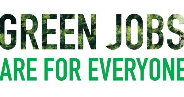 Green Jobs are for everyone logo