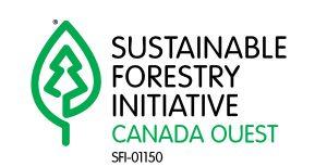 Logo du comité de mise en œuvre des normes SFI Canada Ouest