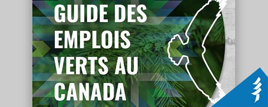 Guide des emplois verts au Canada - page couverture