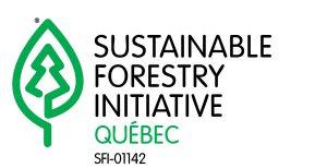 Logo du comité de mise en œuvre des normes SFI Quebec