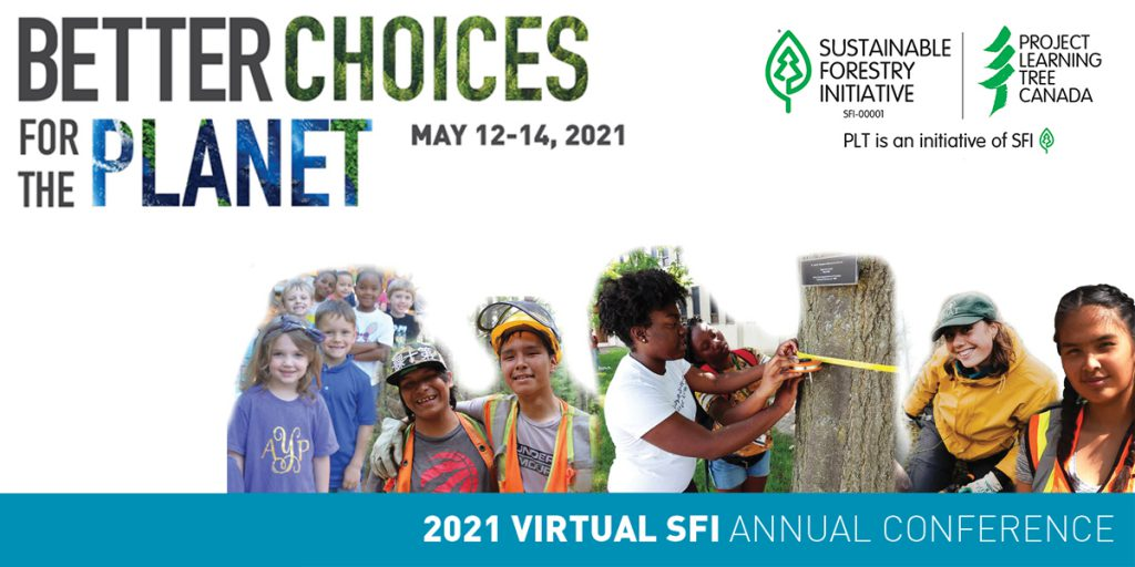 SFI Annual Conference: Better Choices for the Planet logo