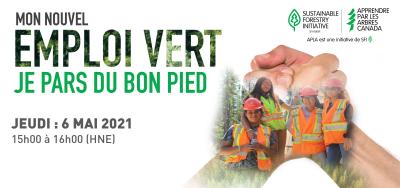 Logo: mon nouvel emploi vert: je pars du bon pied