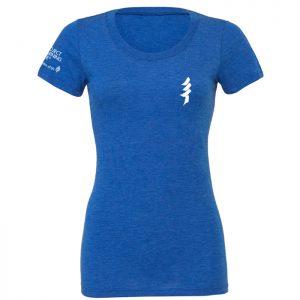 blue ladies tshirt