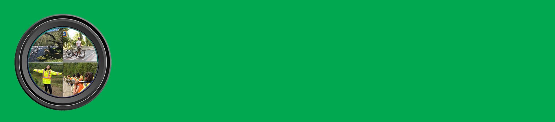 green slider background